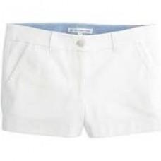 3'' Leah Short - Classic White