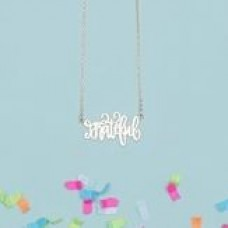ASWN Necklace-Grateful-Gold