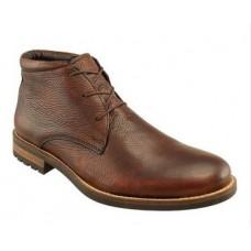 Acadia Deerskin Boot-Chestnut