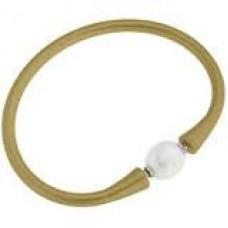 Bali Freshwater Pearl Silicone Bracelet