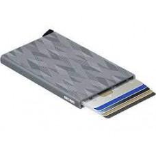Card Protector-Laser Zig Zag Titanium