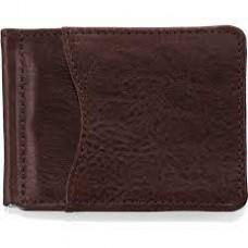 Carnegie Moneyclip Wallet-Brown