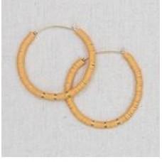Donnie Earrings-Honey