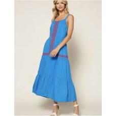 98441 Embroidered Midi Dress