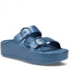 Gaia Platform Slide-Blue Metal