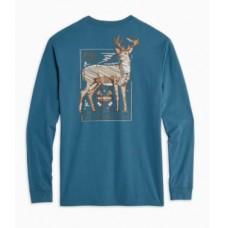 M LS Know Your Prey Deer Tee