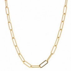Large Gold Chain Link
