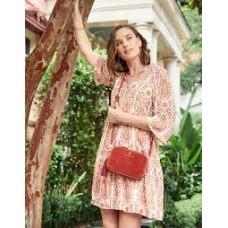 Maise Dress-Pink House Boho Paisley