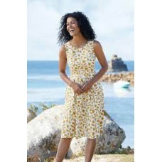 Merthen Dress-Floral Silhouette