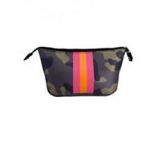 Neoprene Cosmetic Bag-Dark Camo
