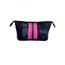 Neoprene Cosmetic Bag-Navy Camo