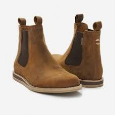 Odessa  Waxed Chelsea Boot