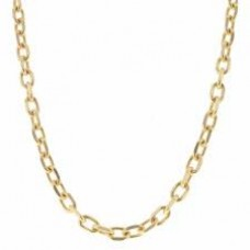 Oval Gold Link Chain