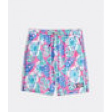 Printed Piped Chappy Swim Trunk SP21