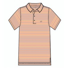Roster Stripe Perf. Polo