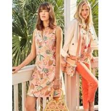 Serena Half-Zip Dress-Pink Lemonade