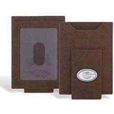 UGA Front Pocket Wallet-Burnished Antique Brown