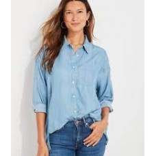 W. Chambray Weekend Button Down