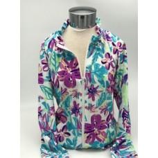 JKTY-8333 F/Z Floral Jacket