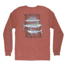 Billfish Stack LS Tee