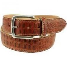 Travis Croc Belt-Sport Rust