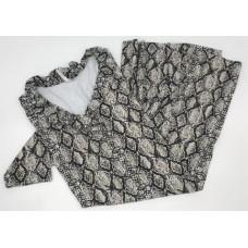 SPX 4457-SKH-Ruffled Collar Dress