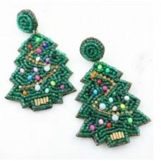Elf Glass Beaded Earring