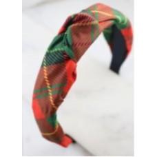 W21949 Christmas Magic Plaid Headband
