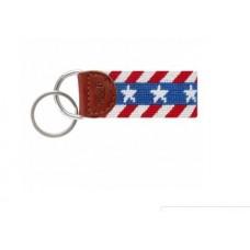 Liberty Stripe Key Fob
