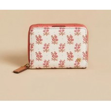 Mini Wallet-Pink House French Floral